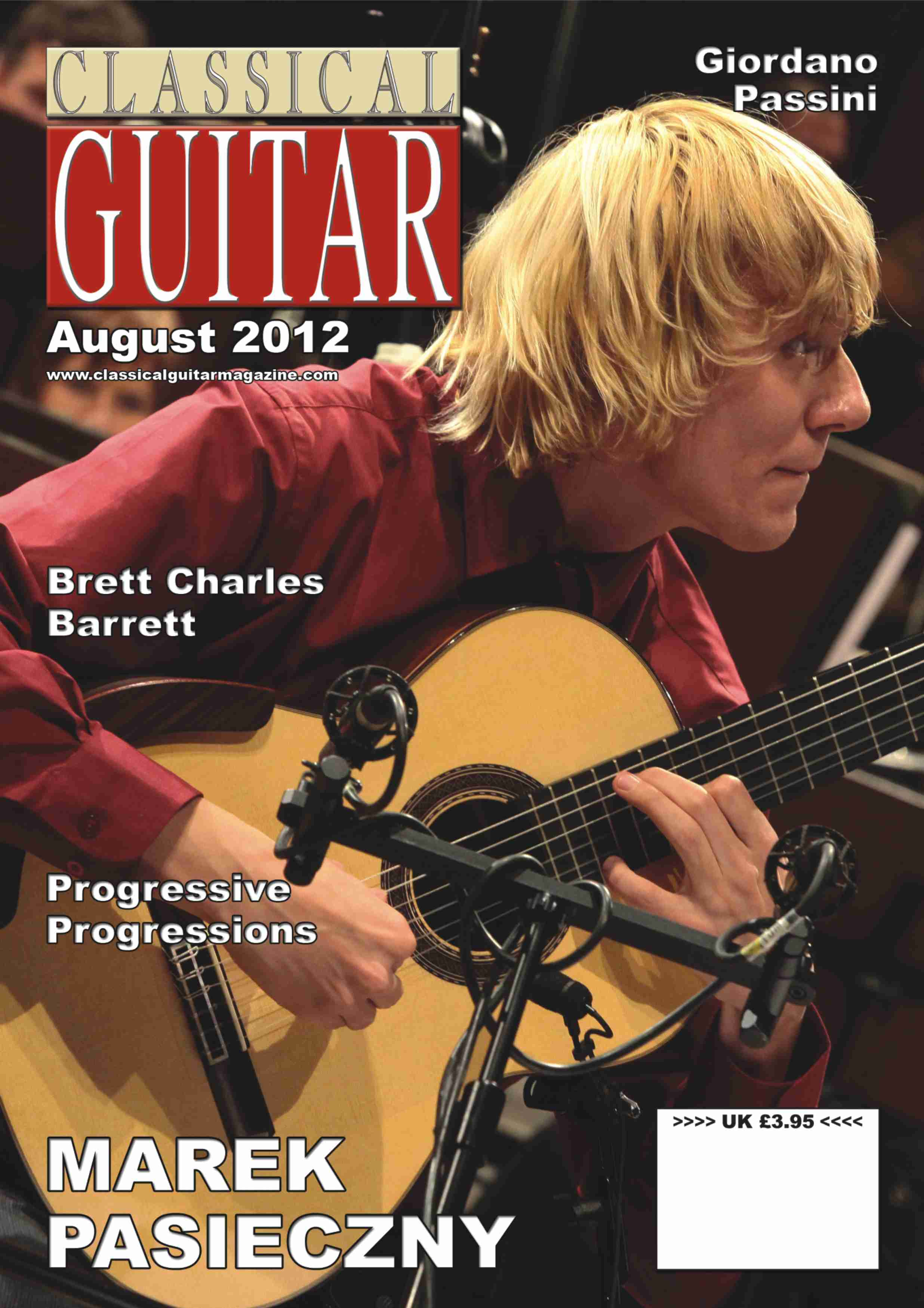 CLASSICAL GUITAR MAGAZINE PASIECZNY 2012 FULL