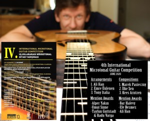 Marek Pasieczny| 1St Prize Winner of The 4th International Microtonal Guitar Competition | Istanbul, Turkey